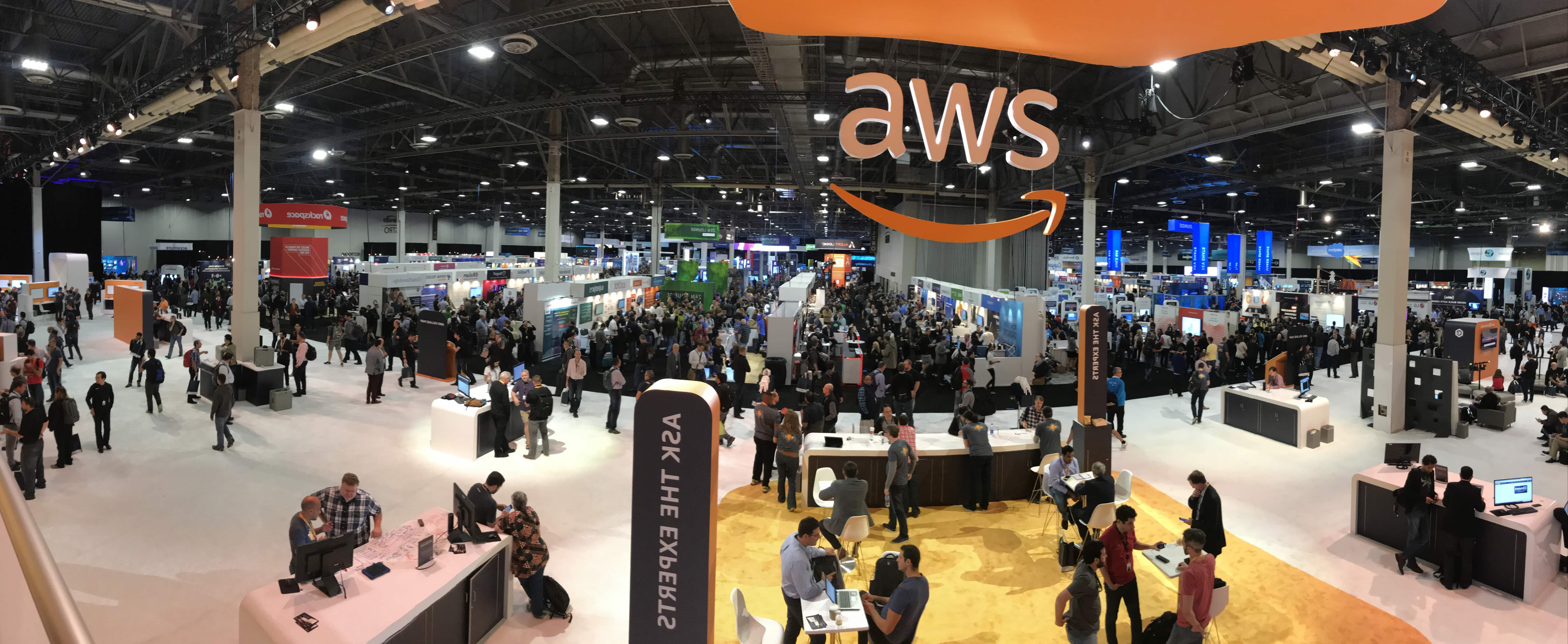 AWS Re:invent The expo 1