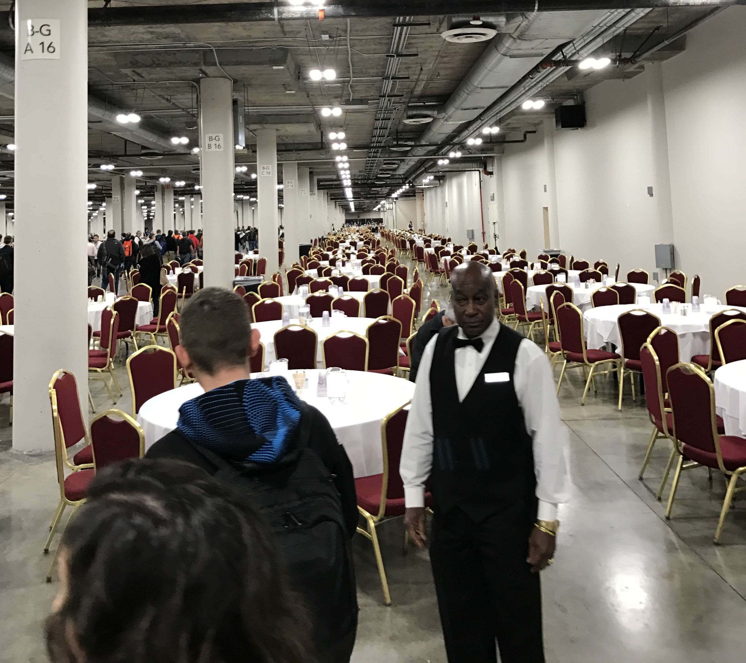 AWS Re:invent Venetian Parking Lunch